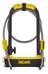 Onguard Pitbull DT 8005 pyöränlukko 115x230 mm Ø14 mm , keltainen/musta